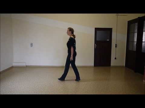 Gypsy queen -  teach and learn with Anke - Line dance DEMO
