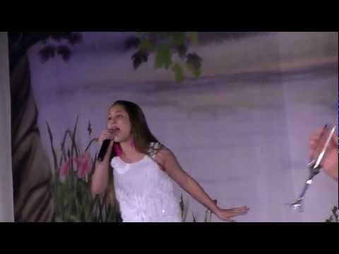 Don't Rain On My Parade - Live Performance - 11 Yr Old Athena