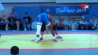74 KG Round 2 - Jordan Burroughs (USA) vs Yunseok Lee (KOR)