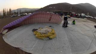 Good landing Parapente Colina