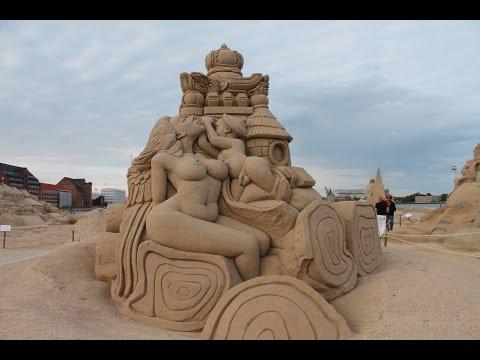 Best sand Art of the world !! sand brushing, sand sculpture, sandpainting