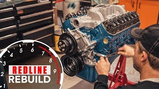 Ford 289 V-8 engine time-lapse rebuild (Fairlane, Mustang, GT350)   Redline Rebuild - S2E1