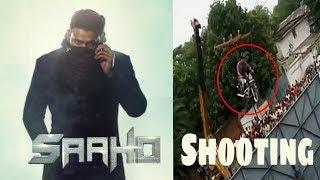 Saaho  Shooting Action Scenes at Annapurna studios || Prabhas ||