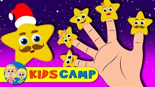 Star Finger Family | Finger Family Collection | Nursery Rhymes & Kids Songs by KidsCamp