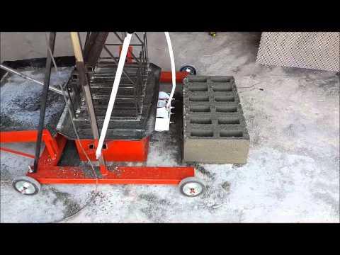 Bloquera Ponedora Industrial Athlon 6 Mezcladora horizontal