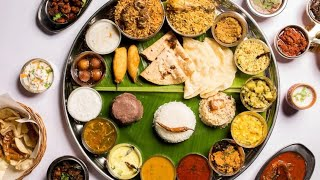 BahuBali Thali | Aromas of Andhra, Hyderabad | Unlimited Food