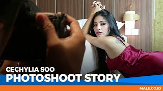 Model Paling Heboh! CECHYLIA SOO di Behind the Scenes Photoshoot - Male Indonesia