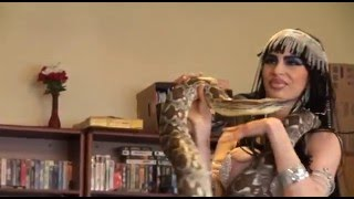 Bellydancer Leila and the Snake