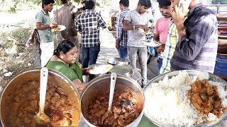 Hyderabad Roadside Meals | Chicken Rice Starting @ 50 Rs Only | Hyderabad Street Food