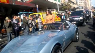 Boobs on bikes Auckland 2011 (Queen Street) HD