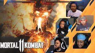 Gamers Reactions to Liu Kang DRAGON | Mortal Kombat 11