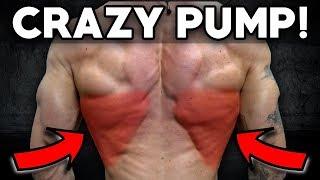 Insane Back & Bicep Workout (Crazy Pump!)