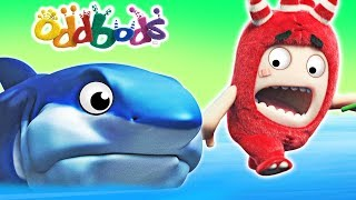 Oddbods | BABY SHARK | Funny Cartoons For Children | Oddbods & Friends