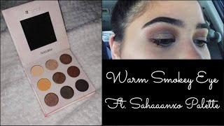 Warm Smokey Eye Ft. Shaaanxo Palette | Lailani Sauaga