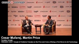Pros and Cons of Being a First Mover in Ad Technology | Fireside Chat