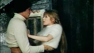 Marianne Faithfull and Alain Delon in 'Girl on a Motorcycle'