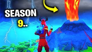 I Glitched Into Fortnite Season 9 EARLY..