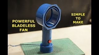 Powerful Bladeless Fan - How to make Bladeless Fan at Home Easily