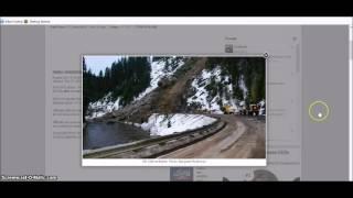 Idaho Landslide Traps Residents
