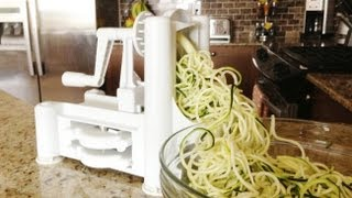 How to Use a Spiralizer - GetFitWithLeyla