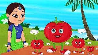 Lal Tamatar Song | लाल टमाटर | Hindi Poems For Children | Hindi Rhymes | Kids Tv India