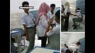 Viral ! Pelajar Pria Ini Lakukan Gerakan Cabul ke Guru Berhijabnya, Fotonya Dikecam Netizen!