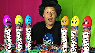 Johny Papa Song with Smarties Candy - Simple Songs & Nursery Rhymes