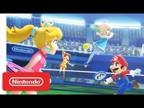 Mario Sports Superstars Nintendo 3DS - Tennis Trailer