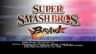 Super Smash Bros. Brawl【Longplay】