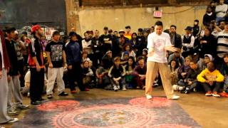 Too TALL and Victorious @ Juste Debout NYC 2011 Pre-Lims