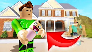 Adopting The Most UGLY Baby In The WORLD! (Roblox)