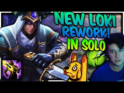 NEW LOKI KIT IS BUSTED IN THE SOLO LANE TANK SOLO ACTION