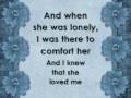 Bridgit Mendler   When She Loved Me Lyrics on the screen2