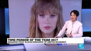 Time Person of the Year 2017: Magazine picks silence breakers of #MeToo movement