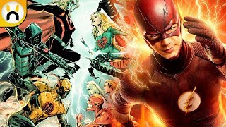 2017 DCTV Crossover Crisis on Earth-X REVEALED