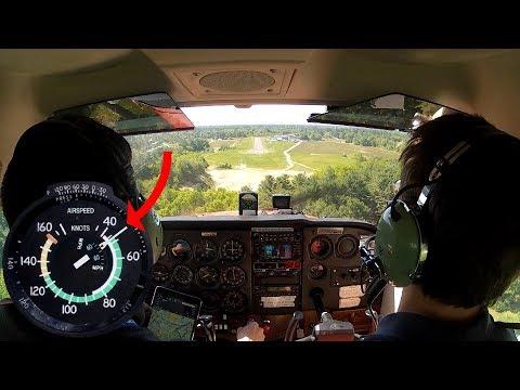 Xxx Mp4 Bush Pilot Technique Cessna 172 Landing On Short Field 3gp Sex