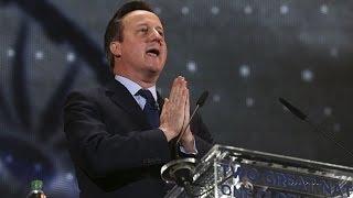 British PM David Cameron Wellcome Speech For Narendra Modi at Wembley ,UK