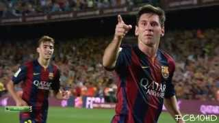 Lionel Messi - Top 10 Goals 2014/2015 | English Commentary | HD