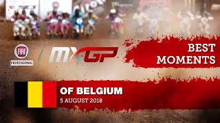 MXGP BEST MOMENTS - FIAT Professional MXGP of Belgium 2018 #motocross