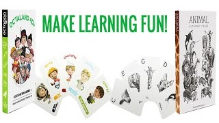 Augmented Reality Education Flash Cards Promo