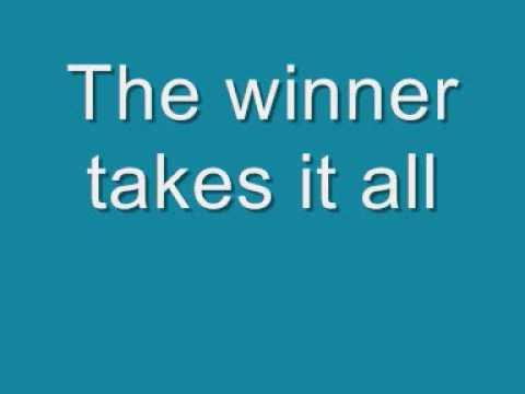 Xxx Mp4 ABBA The Winner Takes It All Lyrics 3gp Sex