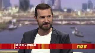 Richard Armitage on Andrew Marr's Show 20 July 2014