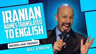"""Iranian Names Translated"" 
