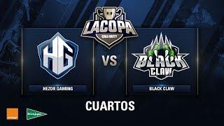 HEZOR GAMING VS BLACK CLAW - Cuartos de Final - Copa CoD - #CoDpaCuartos