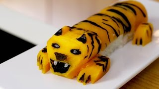 Tiger Sushi Roll Recipe