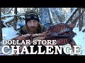 Download Video Download DOLLAR STORE SURVIVAL CHALLENGE in the FOREST | BUSHCRAFT Shelter  with Wild RABBIT 3GP MP4 FLV