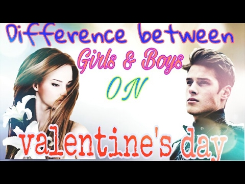 Girls & Boys reacting on valentine's day  funny video must watch in hindi
