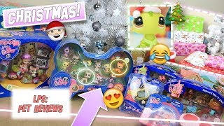 LPS: UNWRAPPING CHRISTMAS PRESENTS! - Huge LPS Haul