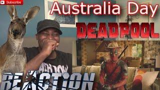 *Funny* DEADPOOL Viral Clip - Australia Day - REACTION!
