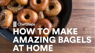 How to Make Amazing Bagels at Home